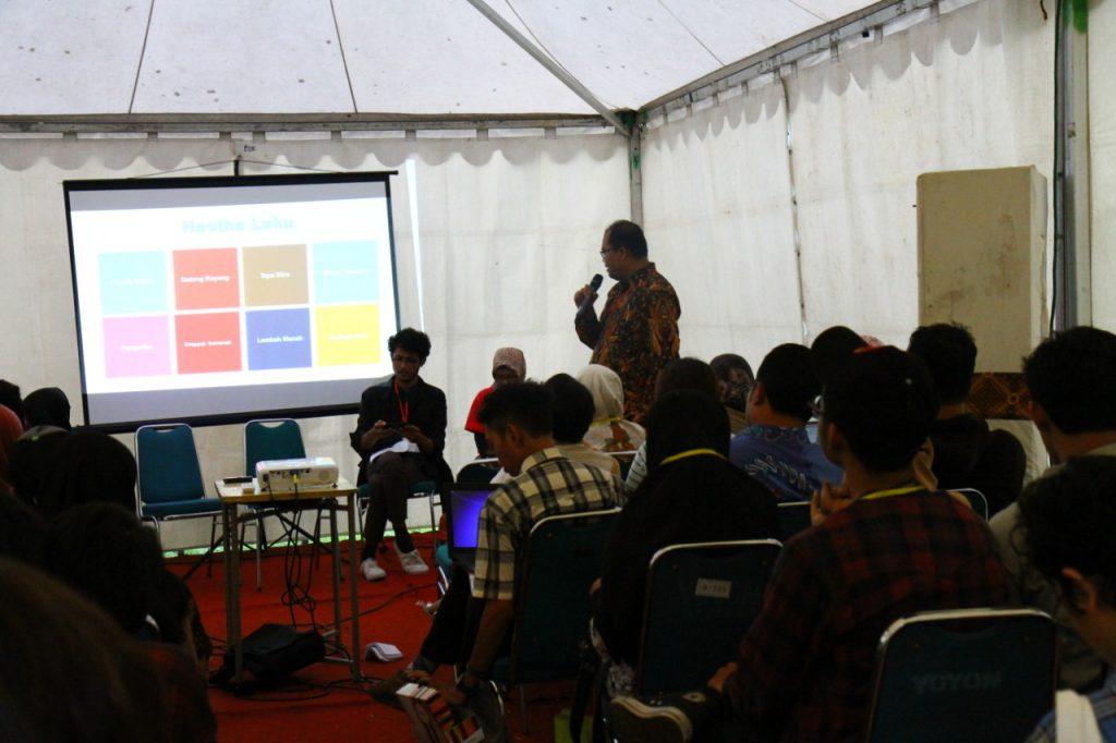 Gambar Belajar Hastha Laku di Urban Social Forum 6th